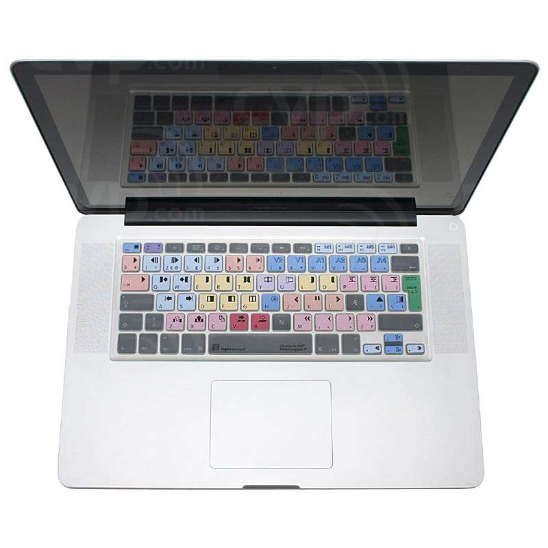 Logic Keyboard Avid Media Composer MacBook LogicSkin 4-8 Universal (LOG-LSMCOM4MBUCUK)