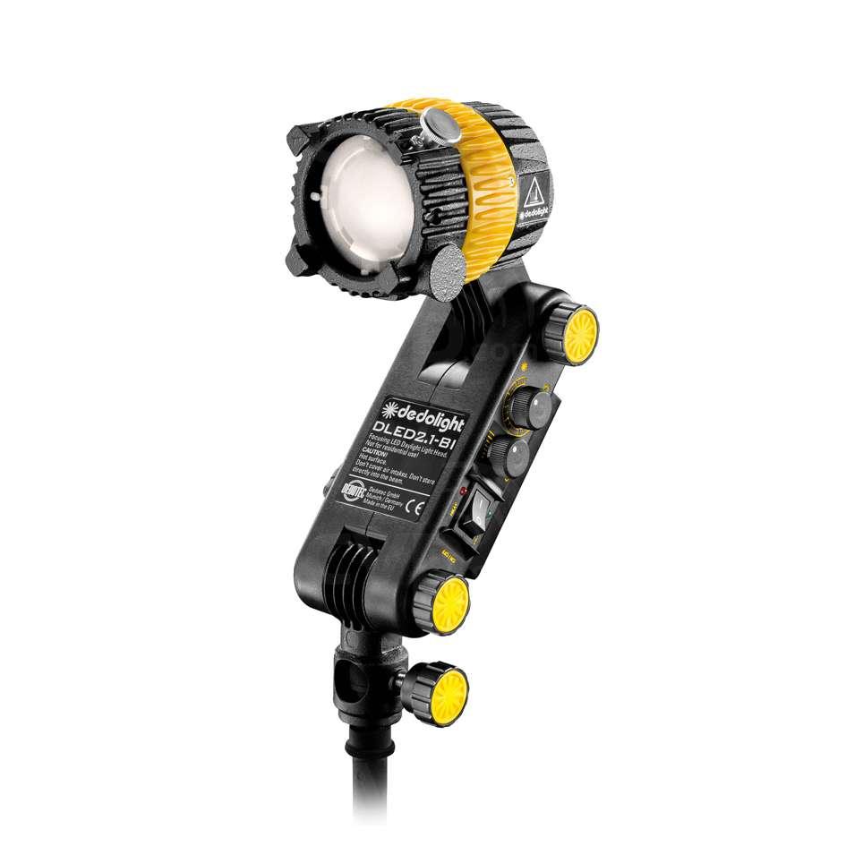Dedolight DLED2.1-BI (DLED21BI) Bicolour Focusing LED Light Head with integrated