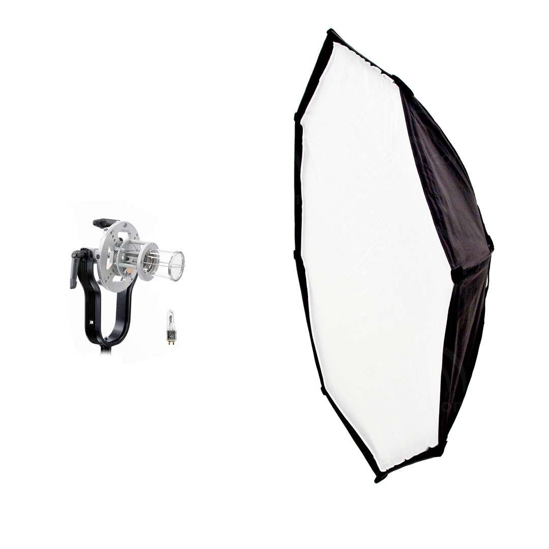 Dedolight SYS-1000SP-OCT5 (SYS1000SPOCT5) 1000W Soft Light Head Kit includes DLH1000SPLUS