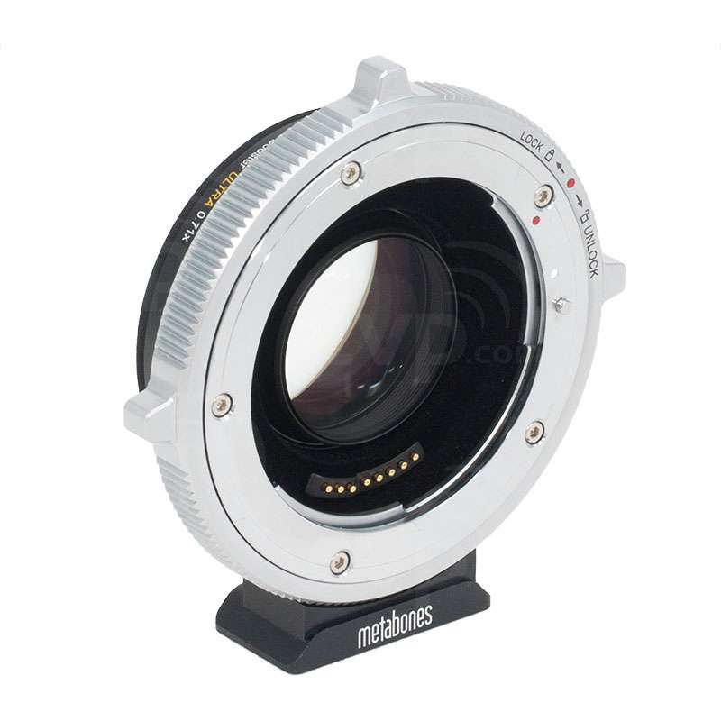 EF-E Lens Mount Speed Booster