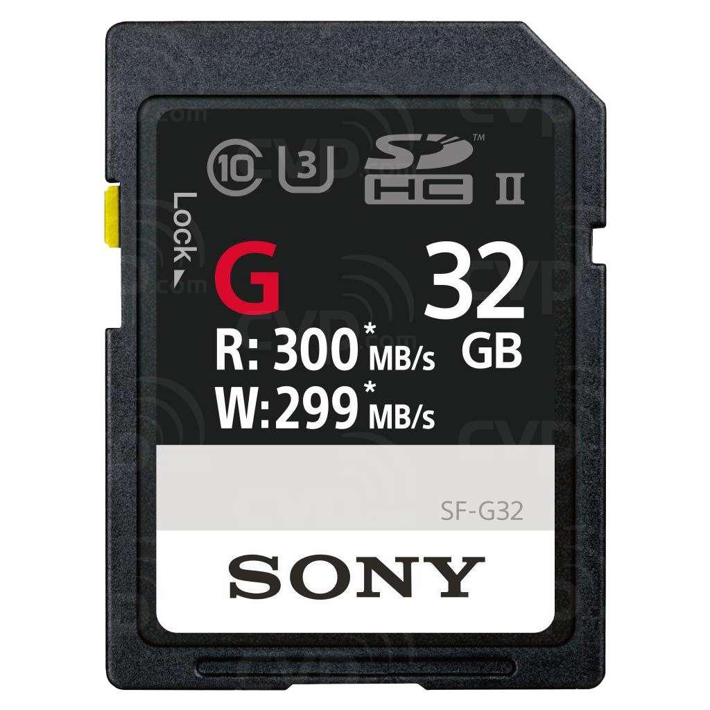 SF-G32 32GB SDHC Memory Card