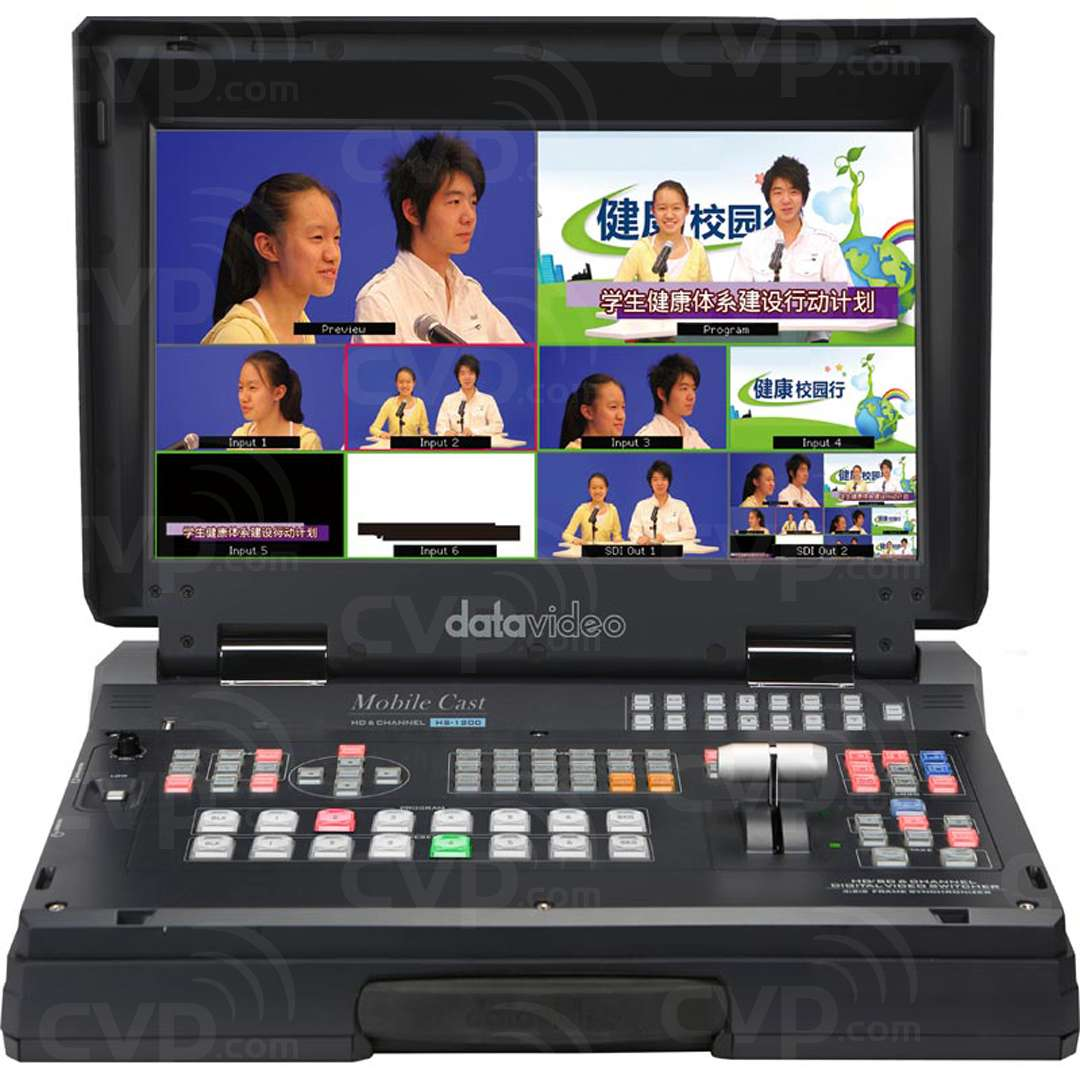 DATA-HS1200 6 Channel HD Portable Studio