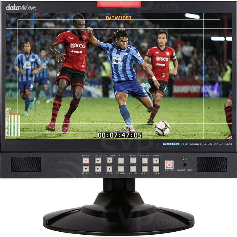 Datavideo DATA-TLM170L (DATATLM170L) Desktop 17.3 Inch 3G-SDI Full HD LCD