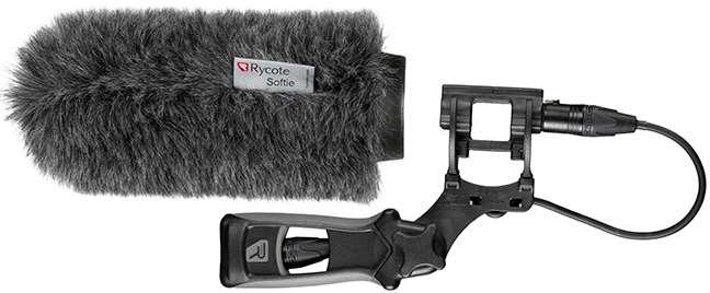 Rycote 033352 18cm medium hole Softie + Pistol Grip and