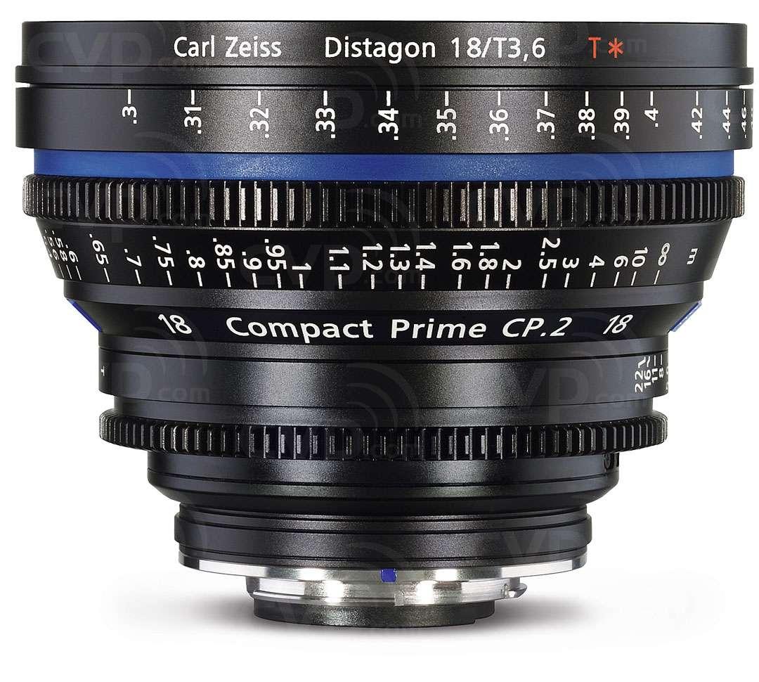 Zeiss 1868-913 18mm CP.2 PL Mount Lens