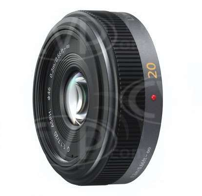 Panasonic 20mm f1.7 Lumix G II ASPH Lens - Micro Four Thirds Mount (p/n H-H020E)