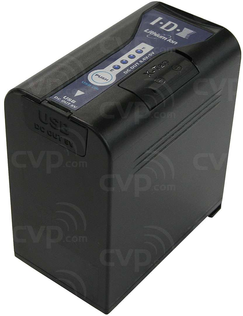 IDX SL-VBD96 (SLVBD96) 7.2V / 70Wh / 9600mAh Lithium Ion Battery with 1x USB (TypeA) and 1x X-Tap outputs