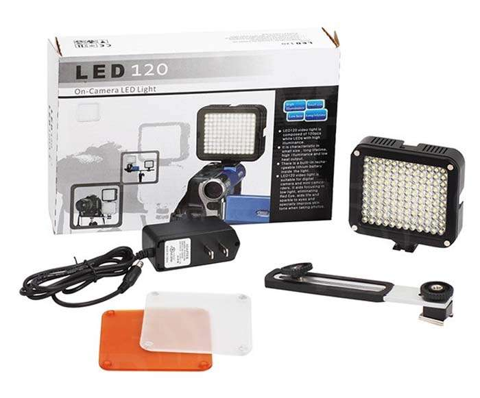 Lishuai (LED120A) Daylight On-Camera LED Light