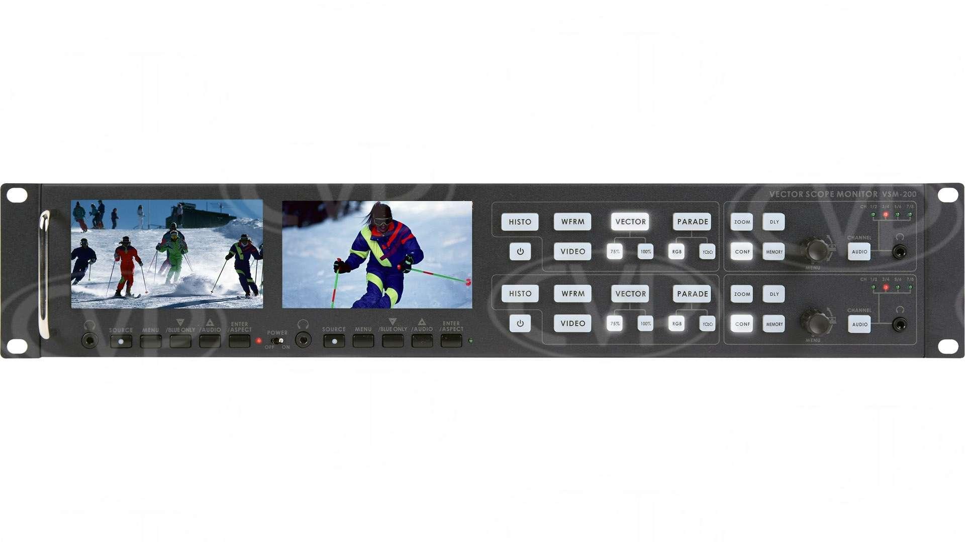 Datavideo DATA-VSM200 (DATAVSM200) VSM-200 2U Rackmountable Monitoring Vectorscope