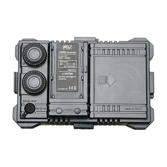 F&V Z180S (Z-180S) UltraColor Bi-Color LED Video Light (p/n 11812315)