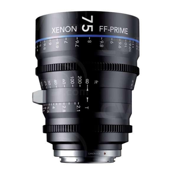 Schneider Kreuznach (SKFF75PLF) 75mm T2.1 Xenon FF-Prime Cine Lens -