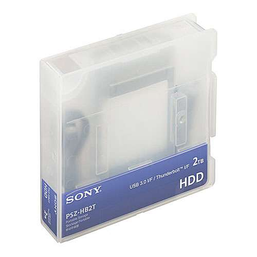 Sony PSZ-HB2T (PSZHB2T) 2TB Field Hard Disk Drive with up