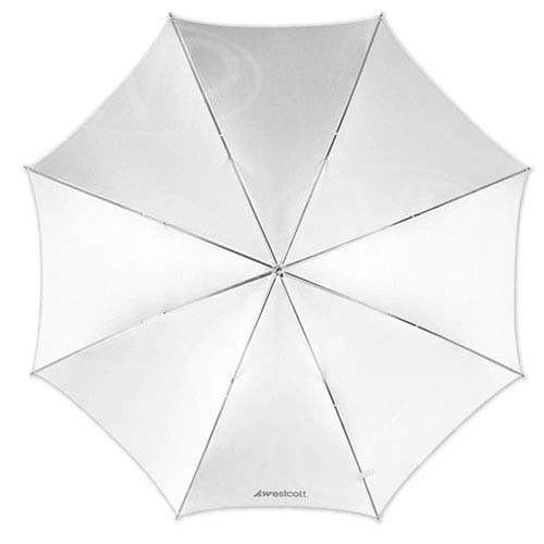 Westcott 2003 32 inch Optical White Satin Umbrella