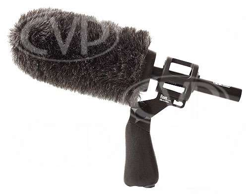 Rycote 033333 12cm Softie with large hole shock-mount and pistol