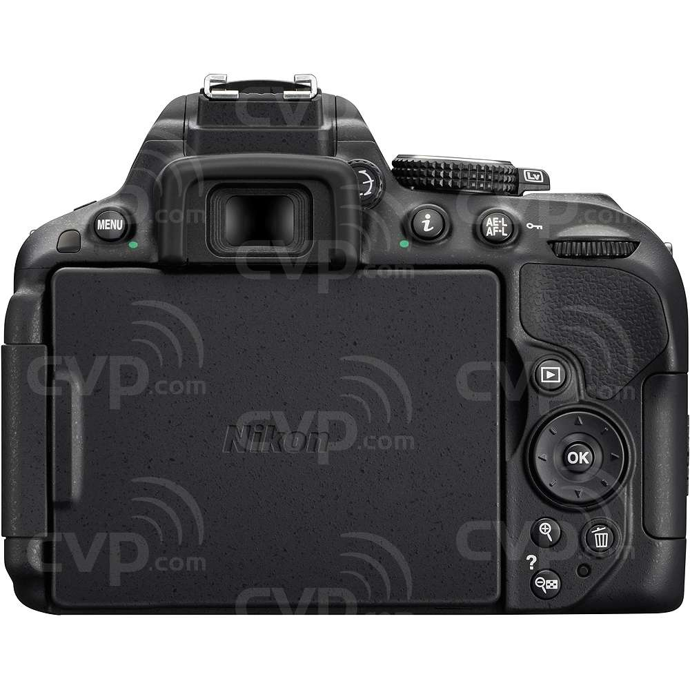 Nikon VBA370AE (VBA-370AE) D5300 24.2MP DSLR with a DX-format CMOS