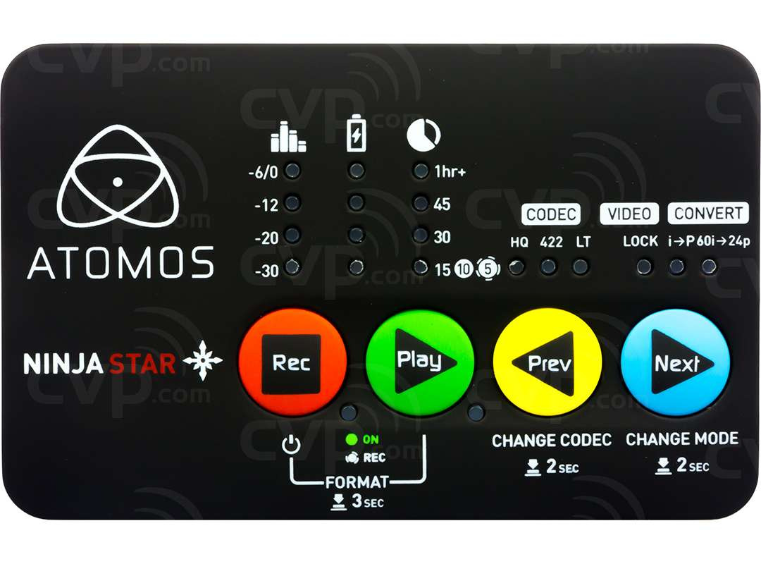 Atomos Ninja Star Lightweight Pocket Sized Apple ProRes Recorder and