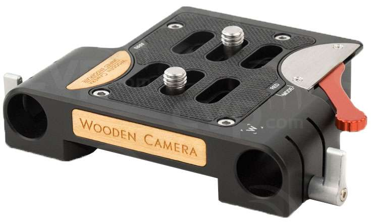 Wooden Camera Unified Bridgeplate (19mm) - Main Image