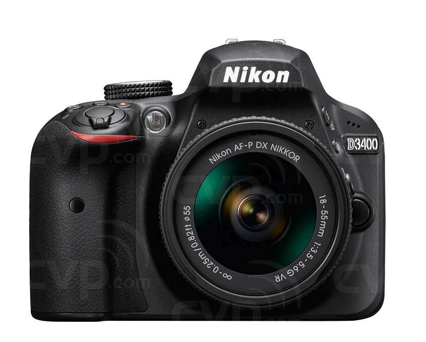 Nikon D3400 24.2 Megapixel Digital SLR Camera Body Only Black