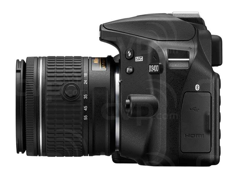 Nikon D3400 24.2 Megapixel Digital SLR Camera and F-P 18-55mm