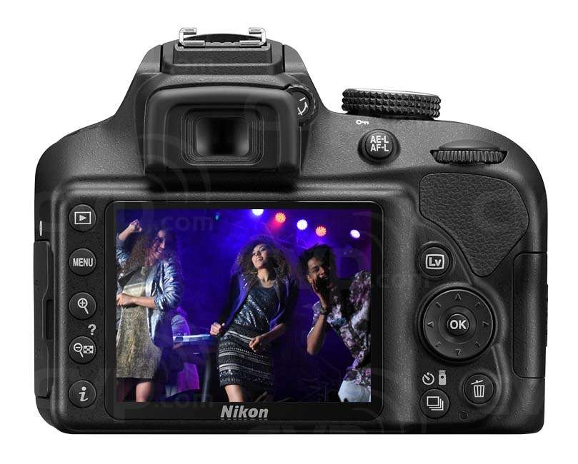 Nikon D3400 24.2 Megapixel Digital SLR Camera and F-P 18-55mm