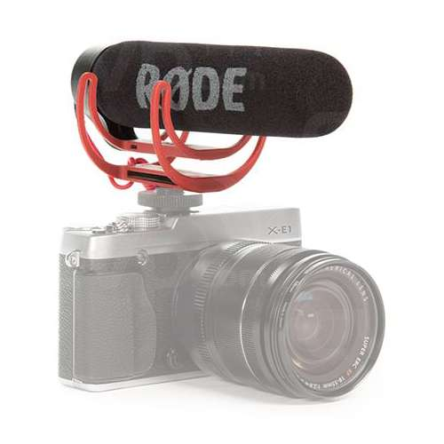 Rode VideoMic Go Lightweight On-Camera Directional Microphone with Integrated Rycote