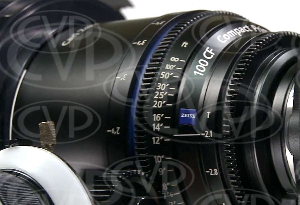 Carl Zeiss Compact Prime CP.2 100mm Close Focus / T2,1