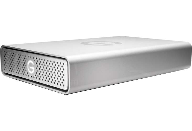 G-Tech G-DRIVE 6TB 7200RPM High-Performance Storage Solution with 1x USB