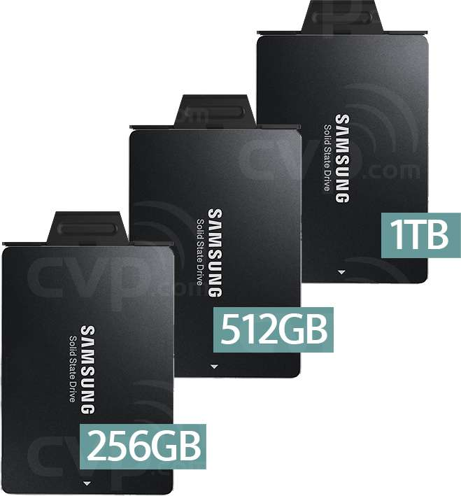 SSDs for the Odyssey7 and 7Q