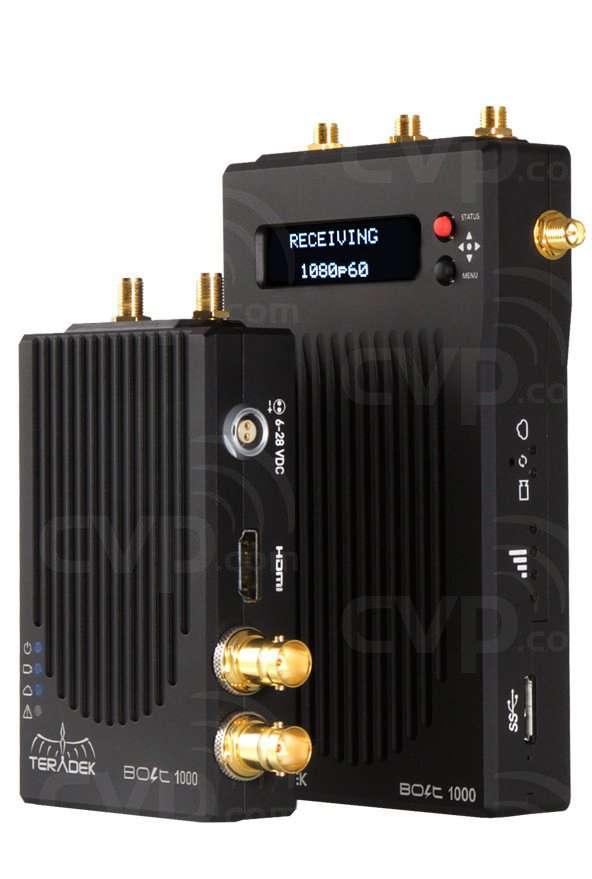 Teradek TER-BOLT-965-2V (TERBOLT9652V) Bolt 1000 HD-SDI / HDMI (with V