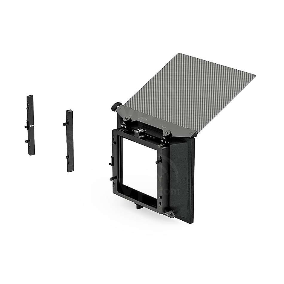 Arri K0.60203.0 (K0602030) LMB-6 2- and 3-Stage Matte Box Set includes LMB-6 Basic Module, 2- & 3- Filter Stage Guide, F1 Filter Frame 6.6x6.6 & Top / Bottom Flag