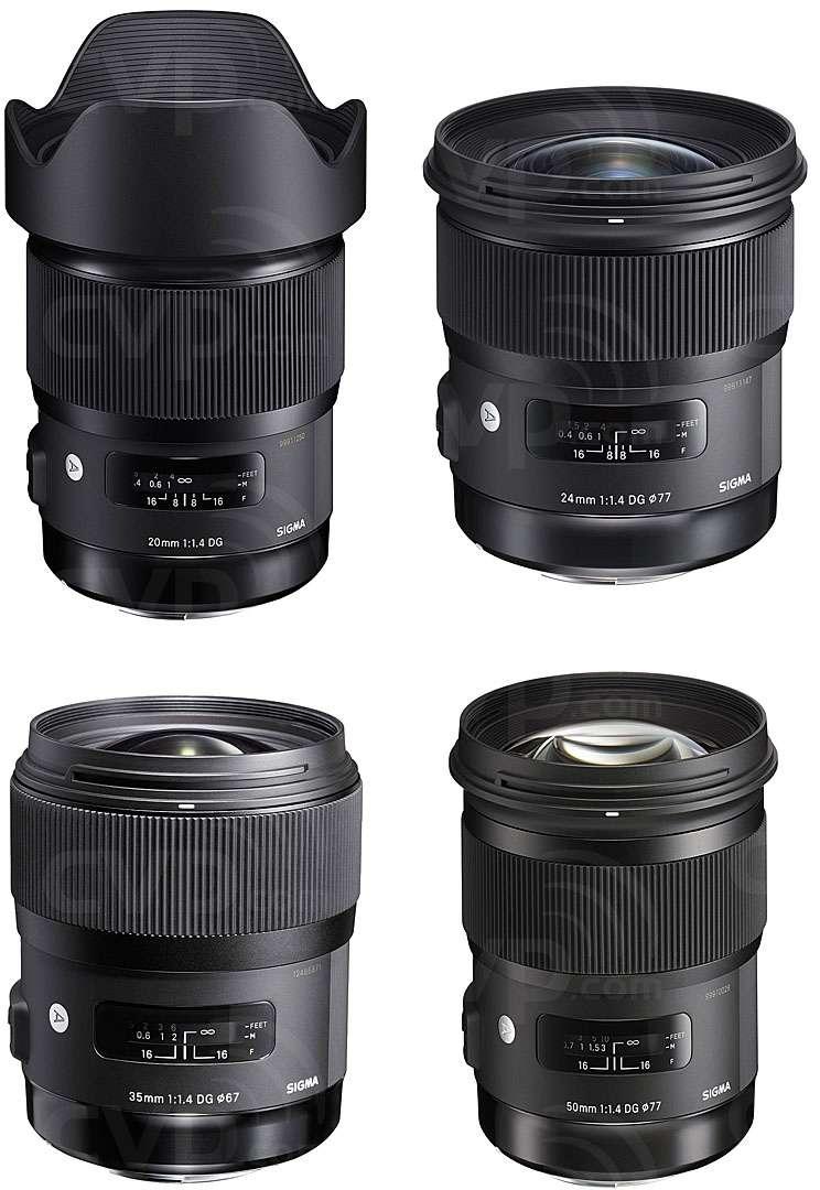 Sigma Art Lens Bundle