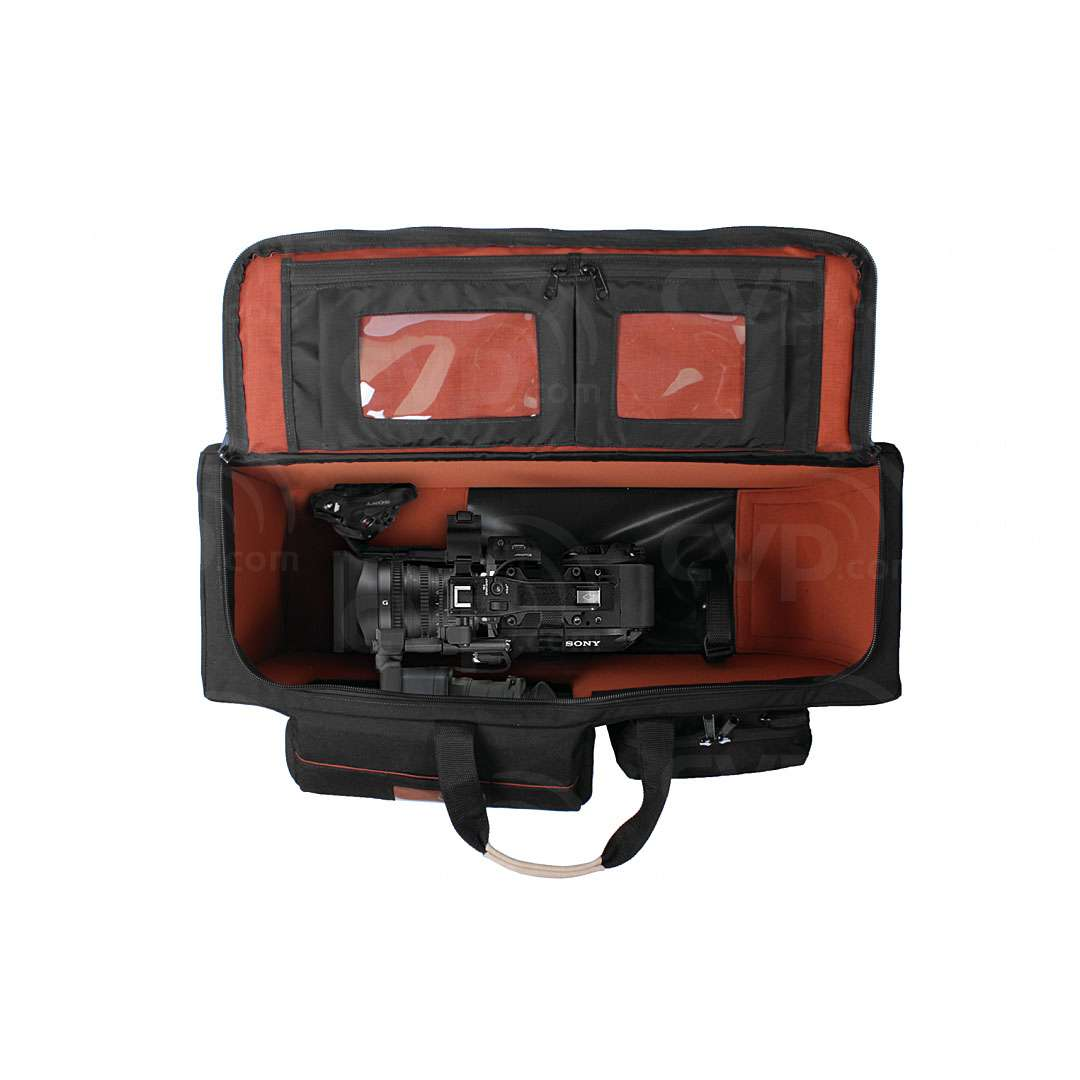 Portabrace RIG-FS7ENGOR (RIGFS7ENGOR) Rigid-frame ENG-style Carrying Case for the Sony