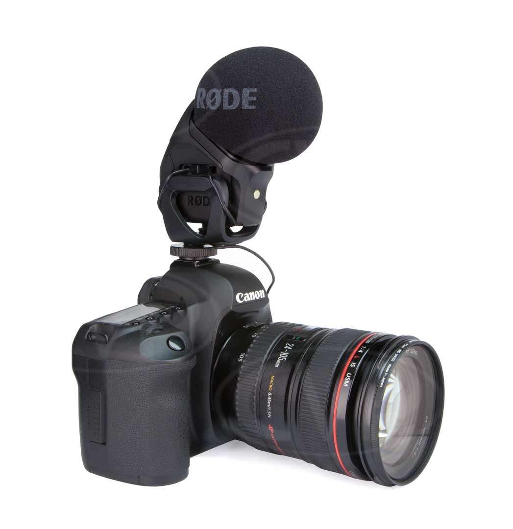 Rode SVMP (SV-MP) Stereo VideoMic Pro - stereo on-camera microphone