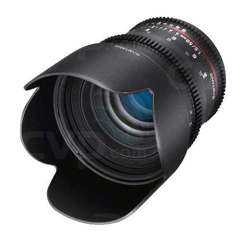 Samyang 50mm T1.5 VDSLR AS UMC Lens, Canon EF-Mount (7441)