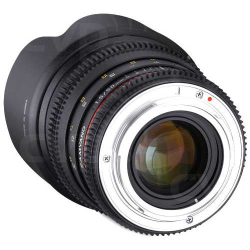 Samyang (7443) 50mm T1.5 VDSLR AS UMC Lens, Sony E-Mount