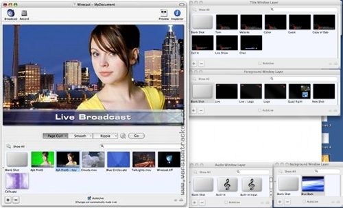 Telestream Wirecast -  Web-Streaming software - Mac or PC