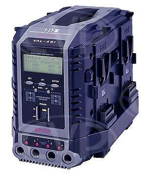 IDX VAL-4Si (VAL4Si) 8-Channel (4+4), Fully Simultaneous, V-Mount Quick Charger