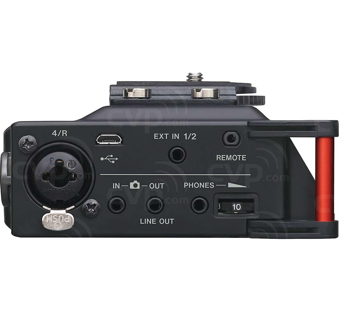 Tascam DR-70D (DR70D) 4-Channel Professional-Grade Audio Recorder for DSLR Cameras