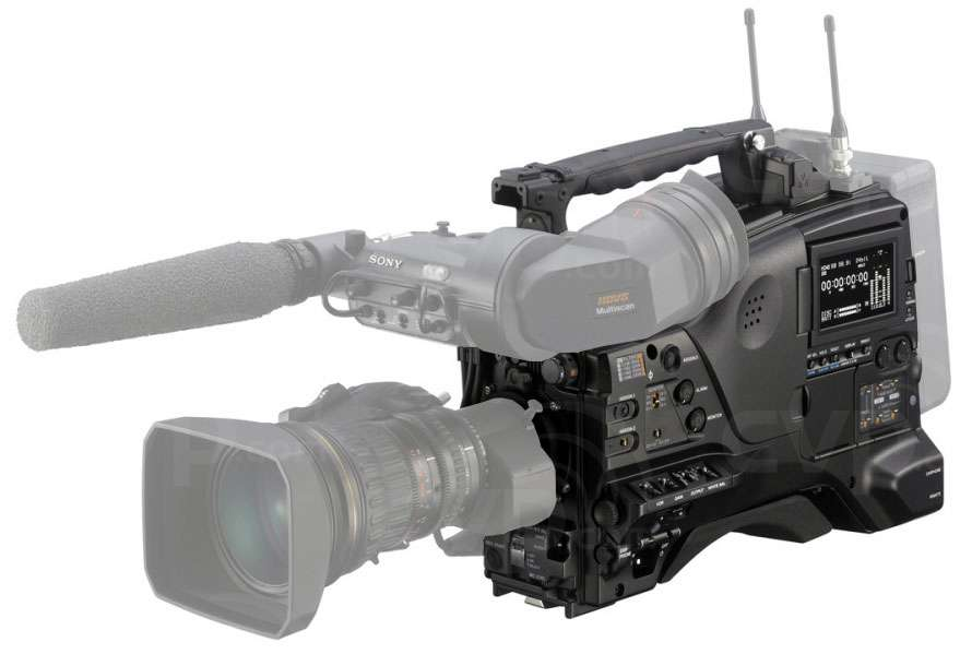 Sony PDW-850 (PDW850) XDCAM Broadcast Shoulder Mount Disc Camcorder with
