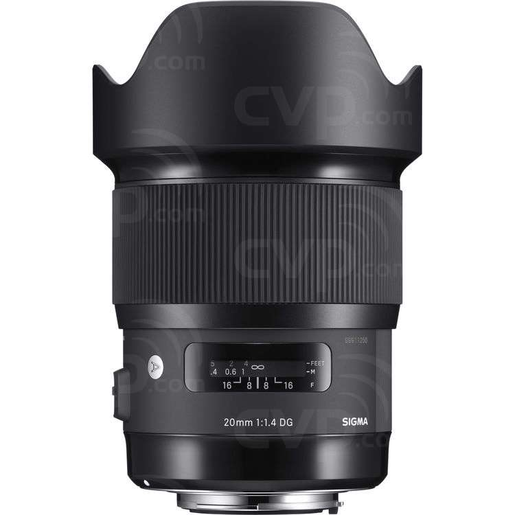 Sigma 20mm f/1.4 DG HSM Art Lens for Canon EF Fit