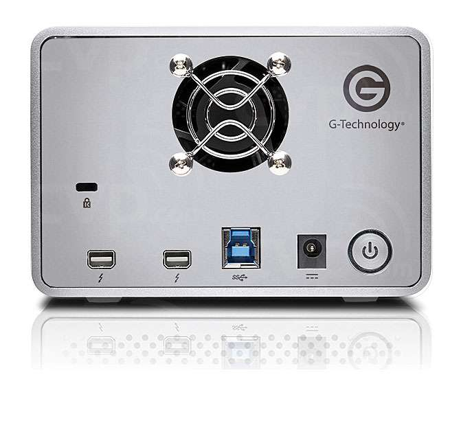 G-Tech G-Raid with Thunderbolt USB 3.0 7200RPM Removable Dual Drive