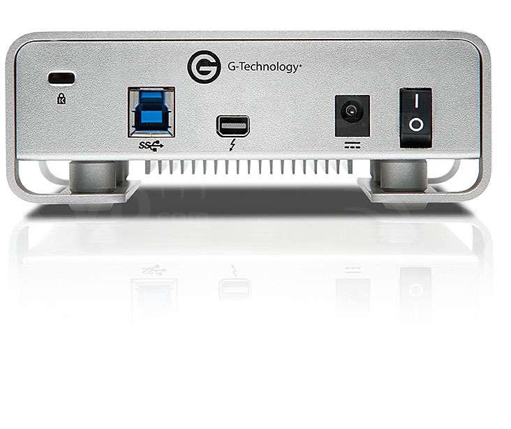 G-Tech G-DRIVE 6TB 7200RPM with Thunderbolt & USB 3.0 (GT-0G04024)