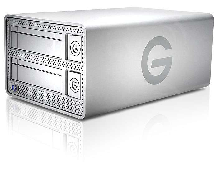 G-Tech G-Dock ev Thunderbolt JBOD without HDD EMEA (Enclosure Only)