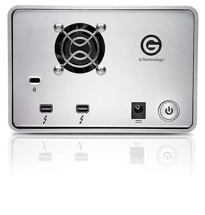 G-Tech G-Dock ev Thunderbolt JBOD without HDD EMEA (Enclosure Only)