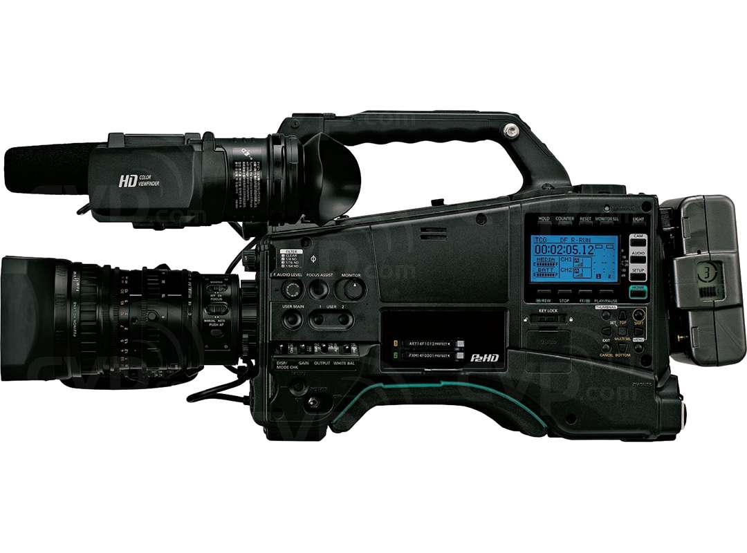 Panasonic AJ-PX800G (AJPX800G) P2 Ultra Lightweight 2/3 Type Shoulder Mount HD Camcorder with 3x MOS Image Sensors (Body Only)