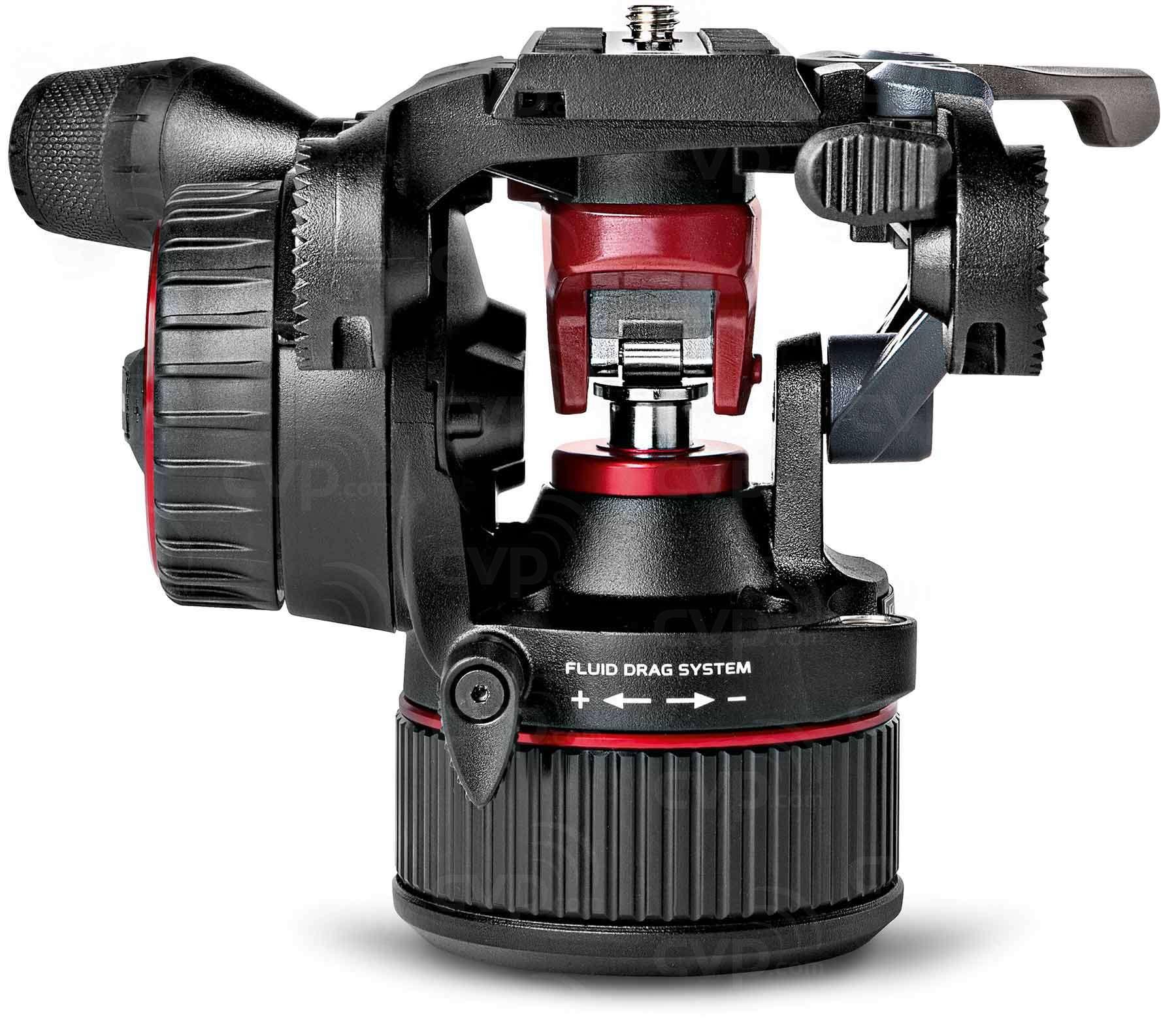 Manfrotto MVHN8AH (MVH-N8AH) Nitrotech N8 Fluid Video Head