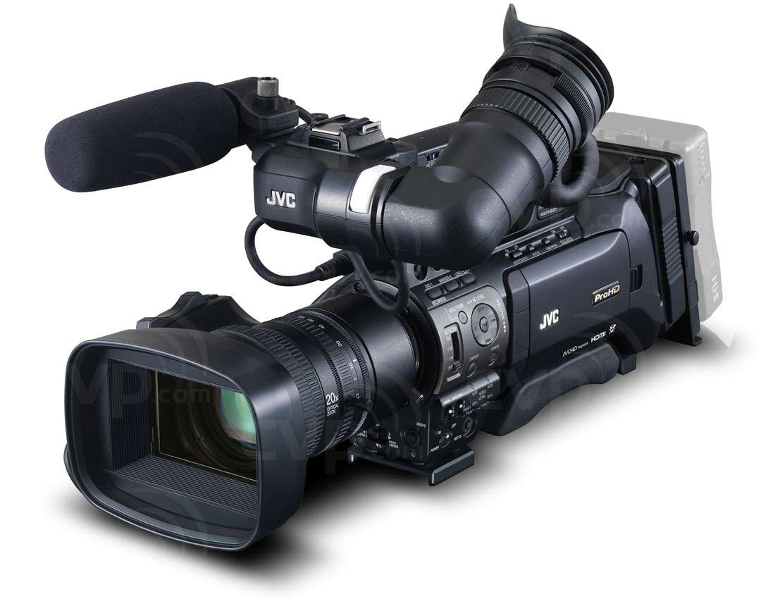 JVC GY-HM850 (GYHM850) Full HD Shoulder-Mount ENG Camcorder with 3x