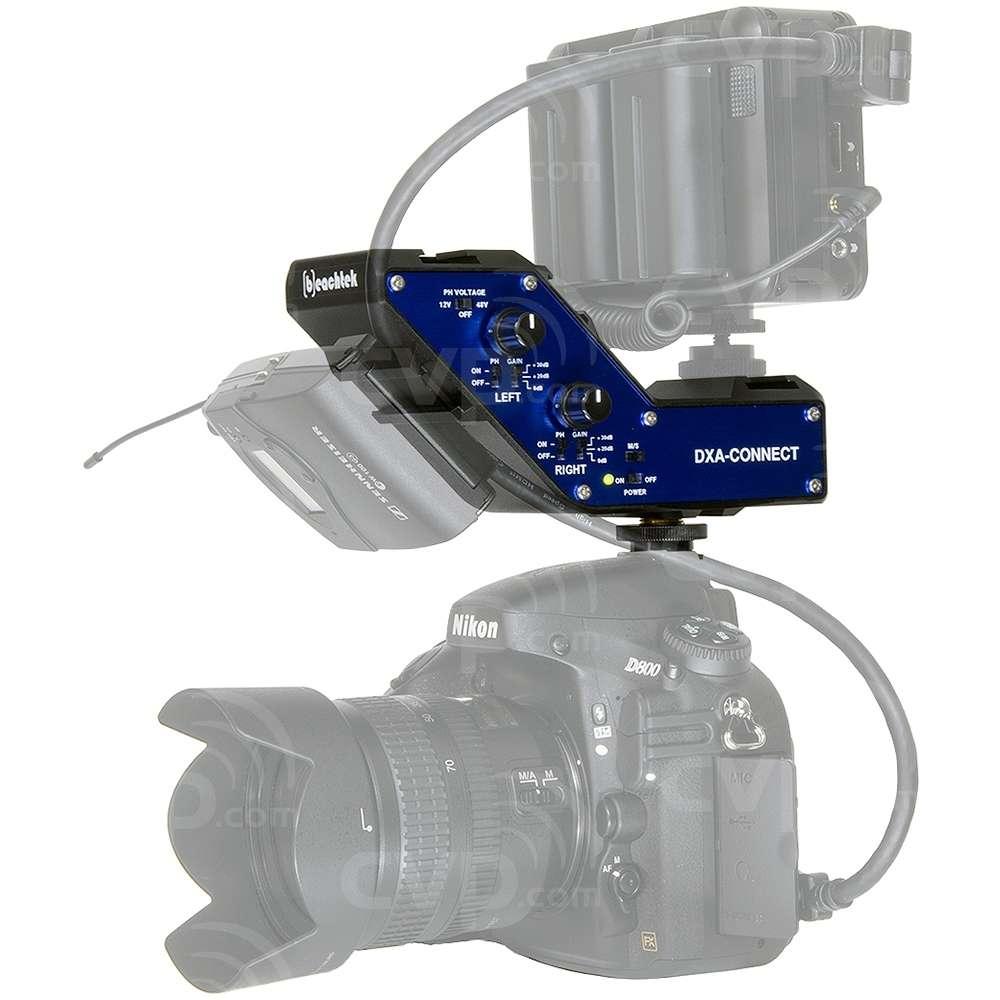 Beachtek DXA-CONNECT (DXACONNECT) Active XLR Adapter/Bracket Combo for Attaching Multiple