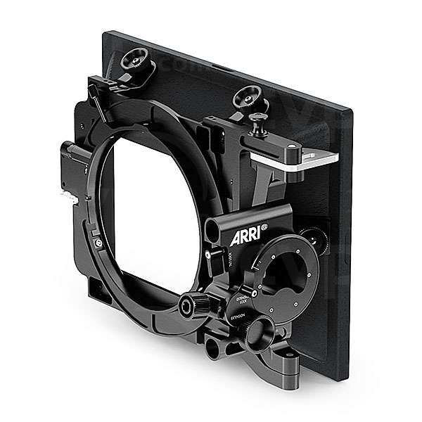 Arri K2.0002256 (K2.0002256) SMB-2 Tilt Studio matte box 4 inch x 5.65 inch with 4:3 ratio sunshade, integrated tilt/extension module