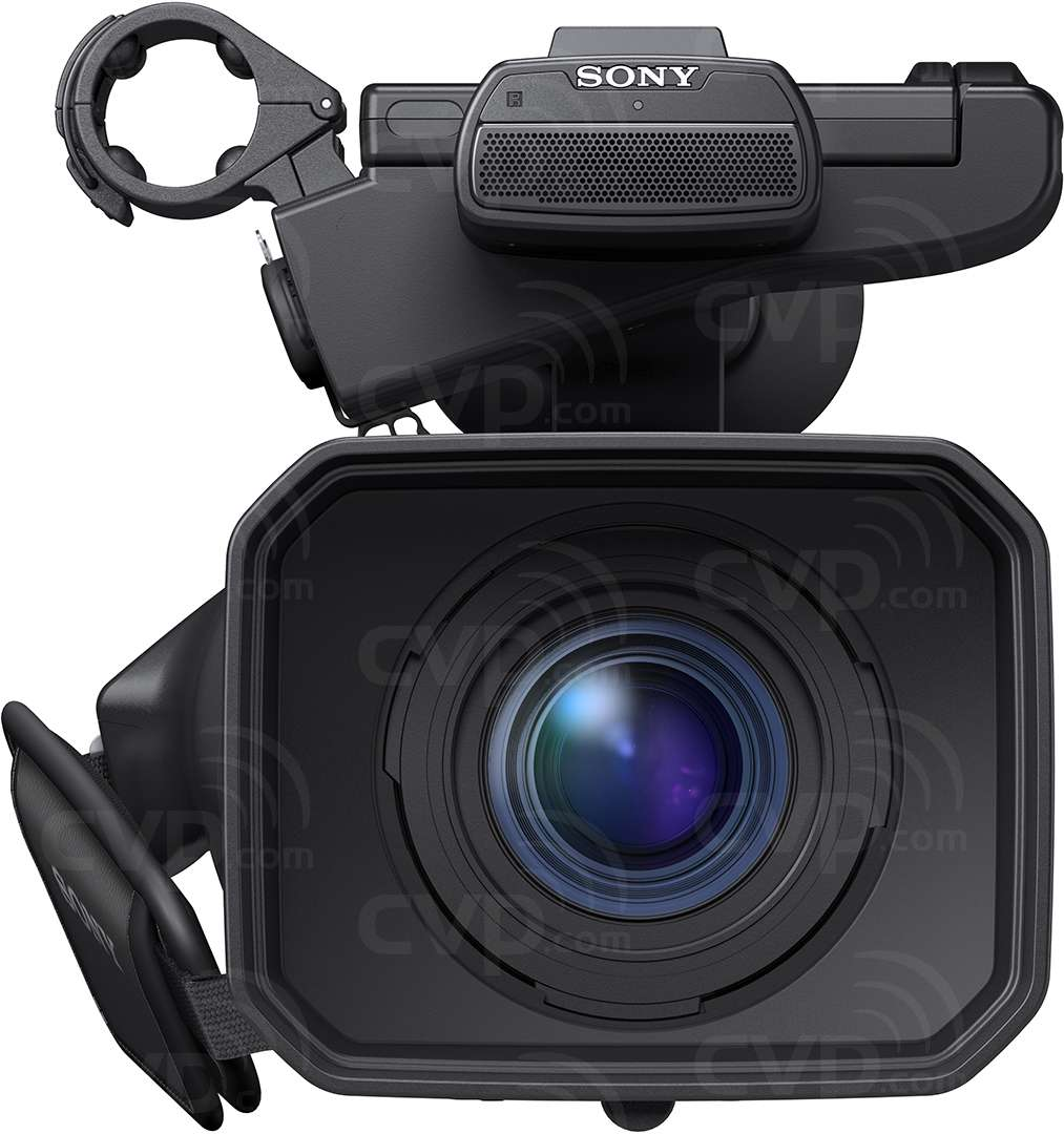 Sony HXR-NX100 front view